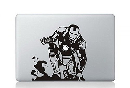 Majestic Modern Magnificent Mac Laptop Stickers Decal Skin Vinyl Cover Black Apple Macbook Pro Air 13
