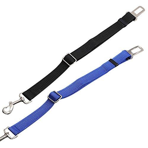 G2PLUS regolabile per cintura di sicurezza auto per cani, per cablaggio auto, in Nylon per veicolo ritenuta per gli animali domestici