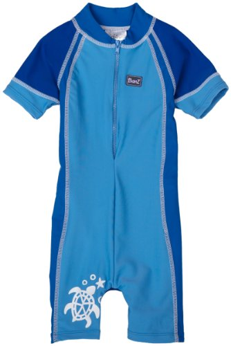 Baby Banz One Piece Sun Protection Swimsuit, Blue, Size 2