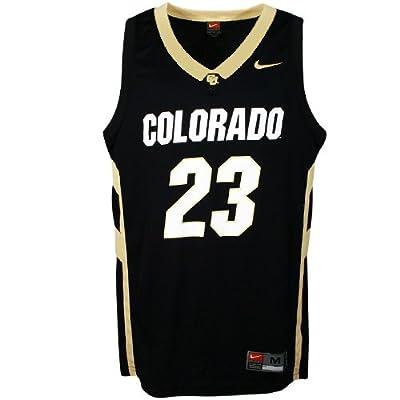 Amazon.com : Nike Colorado Buffaloes #23 Black Replica Basketball