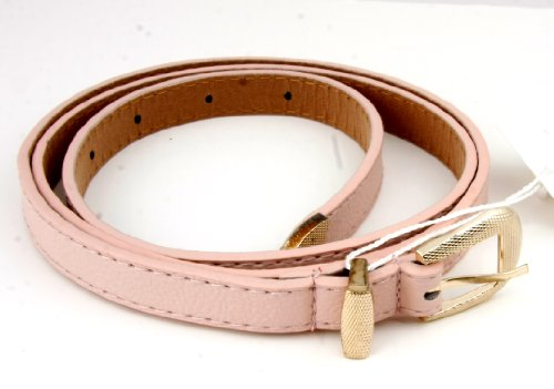 Chic Accent Color Fashion Belt (Peach)