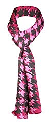 Anne Klein Women's Colorful Paisley Scarf One Size Pink & Orange
