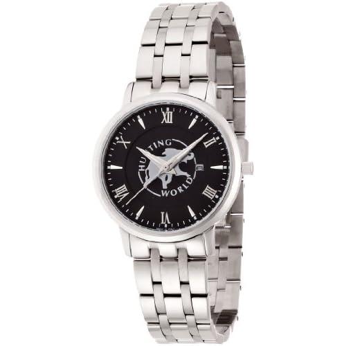 [ハンティングワールド]Hunting World 腕時計 カヴァリエレ ブラック クォーツ レディース HW018LBK レディース 【正規輸入品】