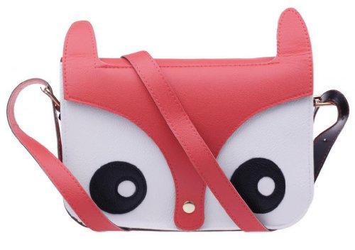Aokeshen Charm Pink Retro Shoulder Bag Messenger