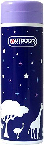 【カラバリ9色】 OUTDOORPRODUCTS アウトドア プロダクツ ステンレスボトル 保温 保冷 380ml 500ml 水筒 マグボトル タオルセット (サファリ(500ml))
