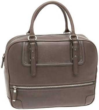 Calvin Klein Lux Nappa Flight Bag,Mink,one size