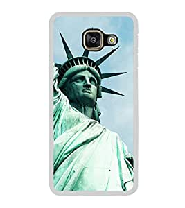 Statue of Liberty 2D Hard Polycarbonate Designer Back Case Cover for Samsung Galaxy A5 (2016) :: Samsung Galaxy A5 2016 Duos :: Samsung Galaxy A5 2016 A510F A510M A510FD A5100 A510Y :: Samsung Galaxy A5 A510 2016 Edition