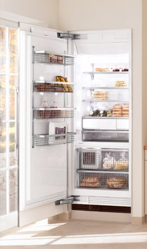 "F1911SF Miele 36"" All Freezer Fully Integrated Left Hinged - Stainless Steel"