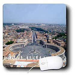 Vacation Spots - The Vatican Square - Mouse Pads