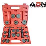 ABN Precision Brake Caliper Wind Back Tool Set - 18 Piece
