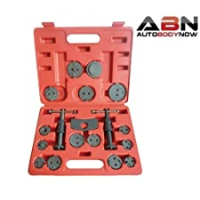 ABN Precision Brake Caliper Wind Back Tool Set – 18 Piece