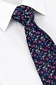 Machine Washable Floral Embroidered Tie