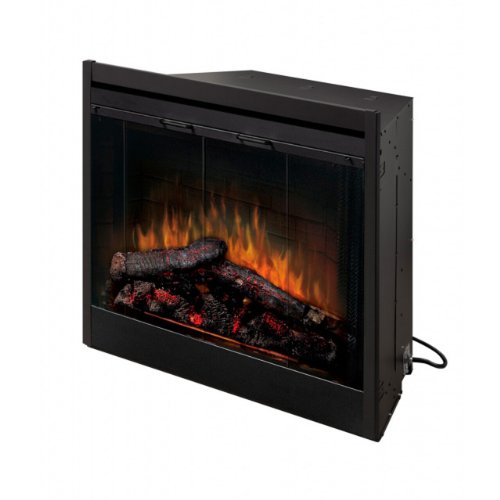 Dimplex BF39DXP 39-Inch Deluxe Built-In Electric Firebox with Resin Logs and Brick Backing photo B001BLCSOS.jpg
