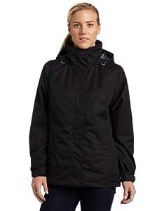 White Sierra Women's All Seasons 4-in-1 All Weather Jacket (Black, X-Large)