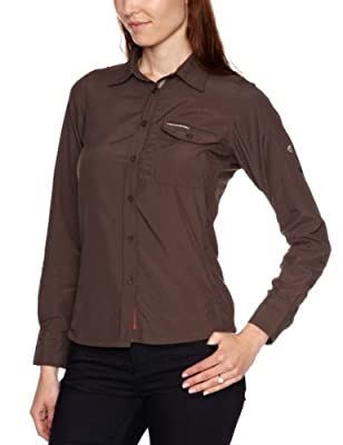 Craghoppers Nosilife Womens Darla Long Sleeve Insect Repellent Shirt