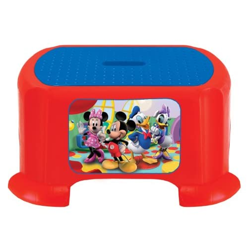 Kids only mickey mouse clubhouse step stool - Mickey mouse stool ...