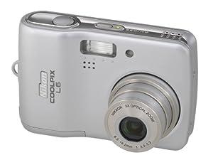 """Nikon Coolpix L5 Appareil photo numérique compact 6 Mpix Ecran 2,5"""" Zoom optique 3x Argent"""