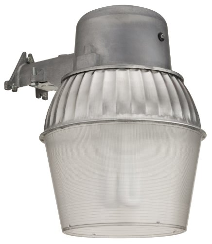 Lithonia OALS10 65F 120 P LP M4 Standard Outdoor Area Light with 65-Watt Compact Fluorescent Compact Quad Tube