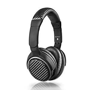 MEElectronics Air-Fi Matrix2 AF62 Stereo Bluetooth Wireless and Wired Headphones with aptX, AAC, and NFC (2014 version)