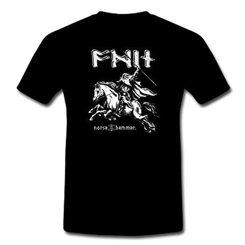 Norse Hammer -  T-shirt - Uomo nero XXL