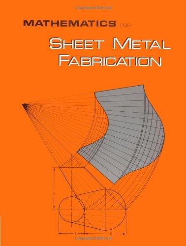 Mathematics For Sheet Metal Fabrication