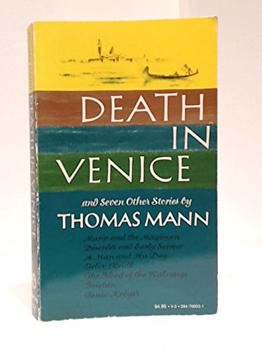 Death in venice essay questions