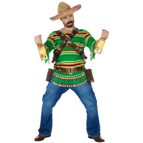Adult Mexican Tequila Pop N Dude Costume