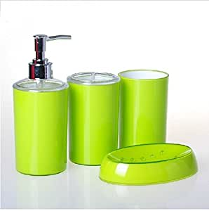 Bathroom Accessory Sets Color Candy Apple