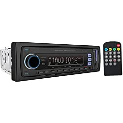 See POWER ACOUSTIK PL_11B Single-DIN In-Dash Mechless Receiver with Detachable Face & Bluetooth(R) Details