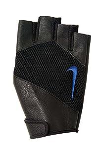 Nike Mens Pro Lift Training Gloves (Black w/Blue, sz XS)
