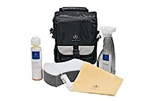 Mercedes benz interior car care kit genuine for Mercedes benz exterior car care kit