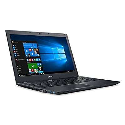 Acer E5-553 15.6-inch Laptop (AMD A10-9600P/4GB/1TB/Windows 10 Home/Integrated Graphics), Black