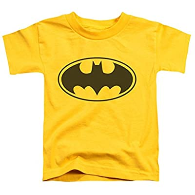 DC Batman Yellow Bat Toddler T-Shirt