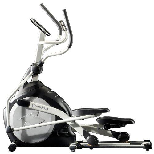 Crosstrainer CardioCross Carbon Pro SF-3200, 23,5 kg Schwungmasse, wartungsarmes Bremssytem über Magnettechnologie, Transportrollen, Kalorienverbrauch, Zeit und und Pulsmessung