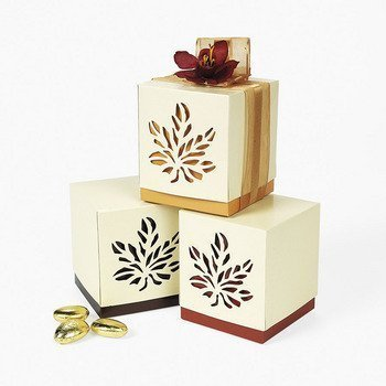 Fall Wedding Favor Boxes - Party Favor & Goody Bags & Paper Goody Bags & Boxes