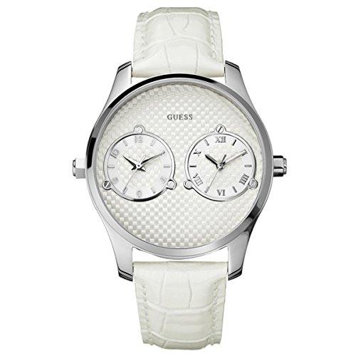 Orologio da polso da donna bianco GUESS mod. W80043G1 doppio orario