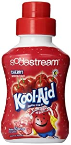 SodaStream Kool Aid Cherry Syrup, 500mL