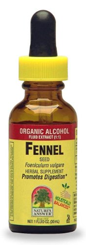 Nature'S Answer Fennel Seed With Organic Alcohol, 1-Fluid Ounce