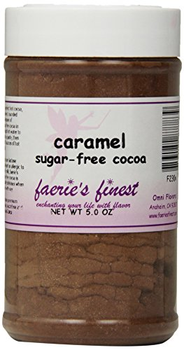 Faeries Finest Sugar-Free Cocoa, Caramel, 5 Ounce