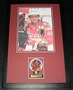 Autographed Bill Elliott Photo - Framed 11x17 Poster Display - Autographed NASCAR... by Sports Memorabilia