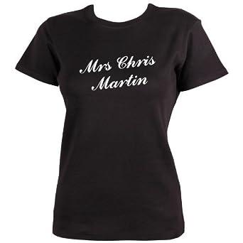 Mrs Chris Martin T-shirt by Dead Fresh, S