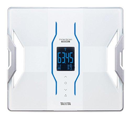 タニタ 体組成計 インナースキャンデュアル RD-901-WH(ホワイト) iPhoneアプリで健康管理/最小表示50g