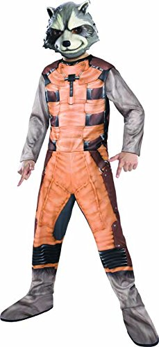 Rubies Guardians of The Galaxy Rocket Raccoon Costume, Child Large