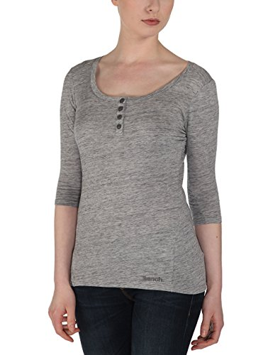 Bench - T-Shirt Outstretch, Camicia di maternità Donna, Grigio (Greymarl), Medium (Taglia Produttore: Medium)