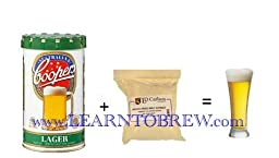 Coopers Lager Complete Beer Ingredient Kit for Home Brewing