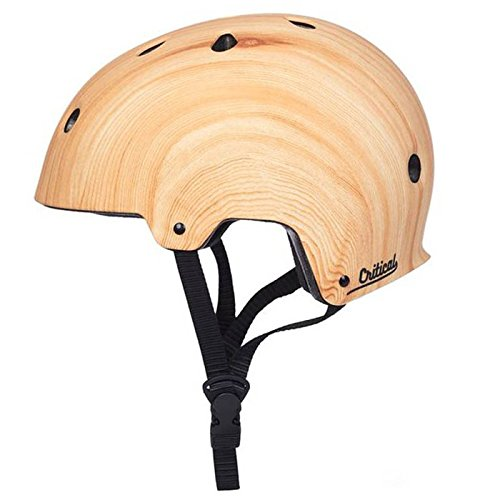 Critical Cycles Classic Commuter Bike/Skate/Multi-Sport CM-2 Helmet with 10 Vents, Bamboo, Small: 51-55 cm / 20
