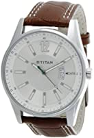 Titan Octane Analog Silver Dial Men's Watch - NE9322SL03A