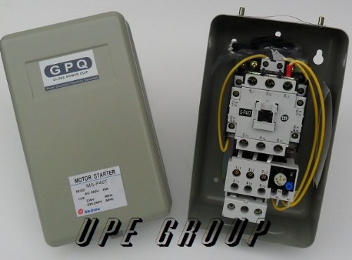 New Magnetic Motor Starter Control For Electric Motor 7.5Hp 1Ph 230V 40 Amp