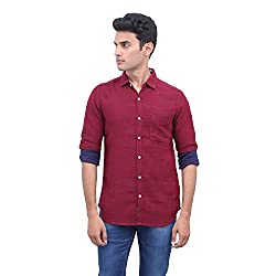 urbantouch maroon double layer shirt