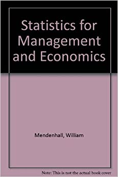 statistics for management and economics Statistics for management and economics, tenth edition, emphasizes applications over calculationit illustrates how vital statistical methods and tools are for today's managers--and teaches you how to apply them to real business problems.